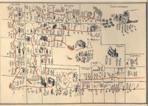(Dibujo del Códice Jucutacato).